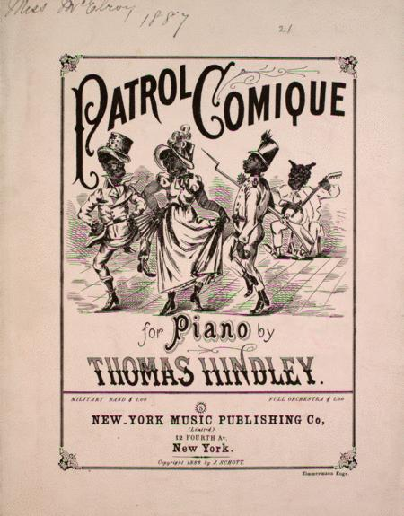 Patrol Comique for Piano