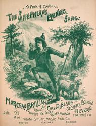 The Shepherd's Evening Song. Morceau Brilliant