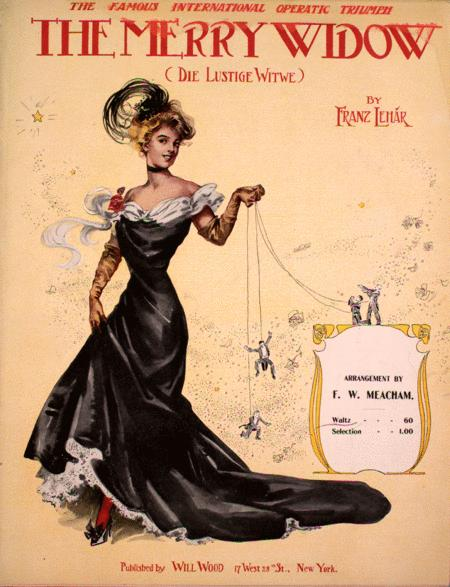 The Merry Widow (Die Lustige Witwe). Waltz