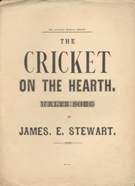 The Cricket on the Hearth. Waltz Song