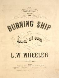 The Burning Ship, or, The Lost at Sea