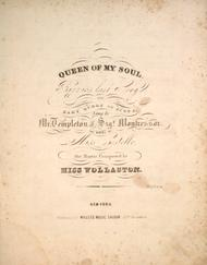 Queen of My Soul. Rizzio's Last Song To Mary Queen of Scots