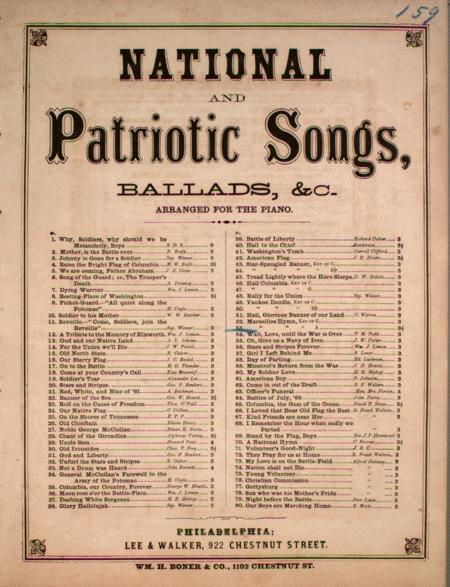 Marseilles Hymn, Key of A