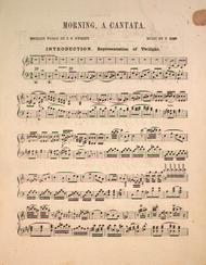 Morning, A Cantata