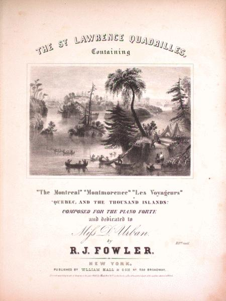 The St. Lawrence Quadrilles