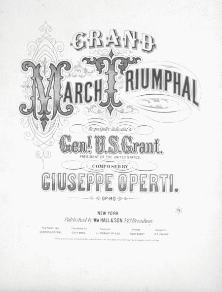General U.S. Grant's Triumphal March