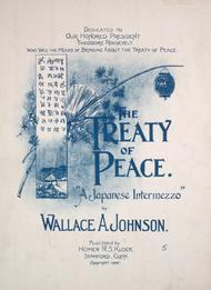 The Treaty of Peace. A Japanese Intermezzo