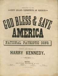 God Bless & Save America. National Patriotic Song