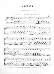 Bonja, a Real Negro Song