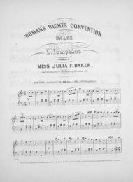 Woman's Rights Convention Waltz