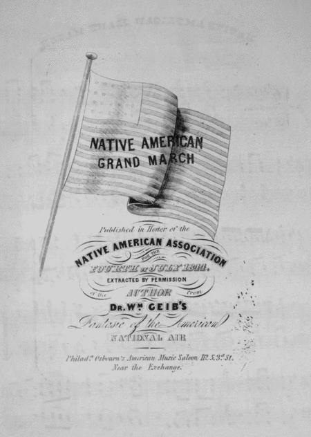 Native American Grand March