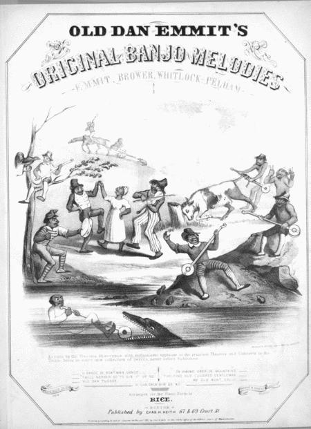 De Boatmen's Dance. An Original Banjo Melody