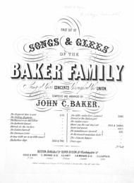 First Set of Songs & Glees of the Baker Family. The Parting Requiem