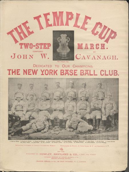 The Temple Cup. Two-Step March