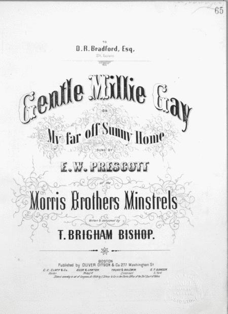 Gentle Millie Gay, or, My Far off Sunny Home