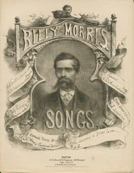 Wreck of Charlestown Bridge, or, Will Jones and Susan Jane. Billy Morris' Songs