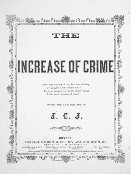 The Increase of Crime
