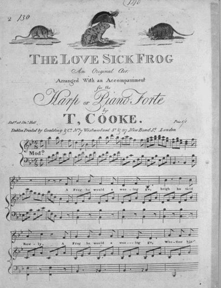 The Love Sick Frog. An Original Ai