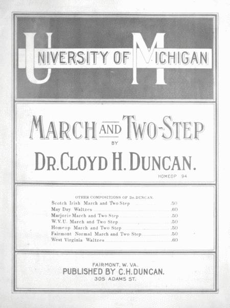 University of Michigan March and Two-Step