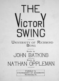 The Victory Swing. University of Richmond Song