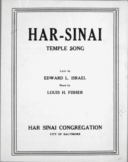 Har-Sinai. Temple Song
