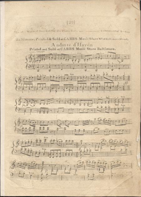 Andante d'Haydn