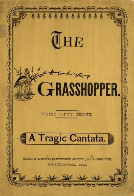 The Grass-hopper. A Tragic Cantata