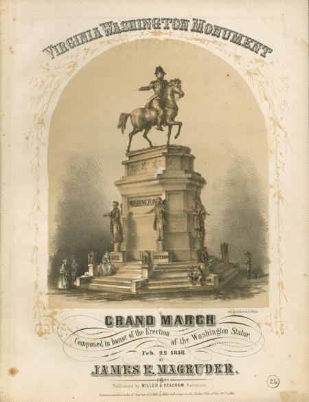 Virginia Washington Monument. Grand March