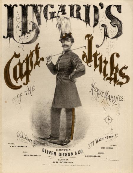 Lingard's Capt. Jinks of the Horse Marines