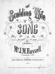 The Scolding Wife Song, or, The Jovial Blade