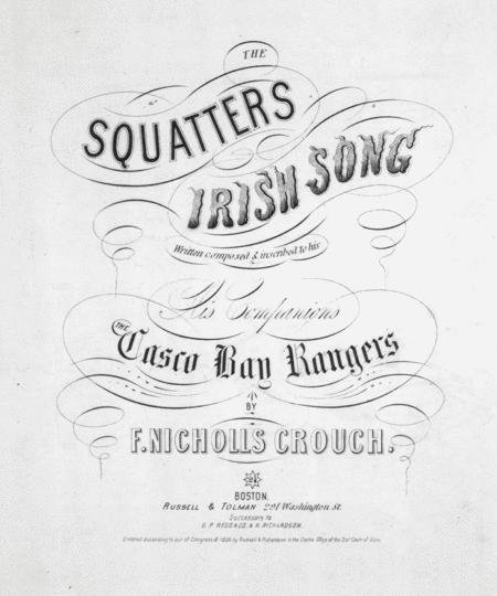 The Squatters. Irish Song