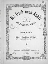 No Irish Need Apply. Original Song