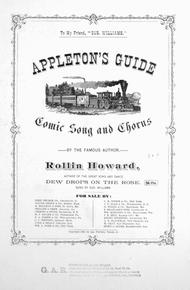 Appleton's Guide. Comic Song and Chorus