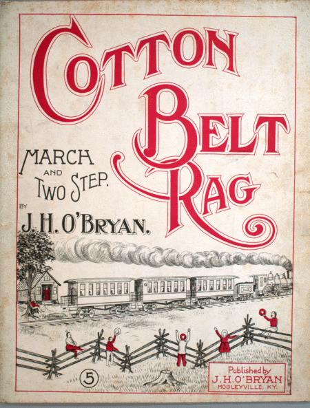 Cotton Belt Rag. March and Two-Step