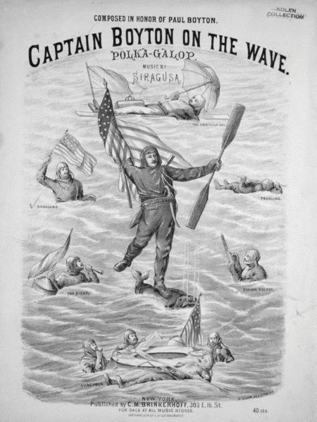 Captain Boyton on the Wave Polka-Galop