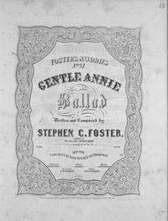 Gentle Annie. Ballad