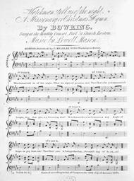 Watchman! Tell Us of the Night. A Missionary or Christmas Hymn