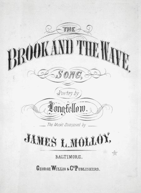 The Brook and the Wave. Song