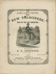 The New Velocipede. Song of the Last Sensation