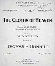 The Cloths of Heaven (from Song Cycle