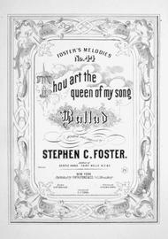 Thou Art The Queen Of My Song. Ballad