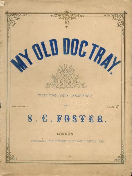 My Old Dog Tray