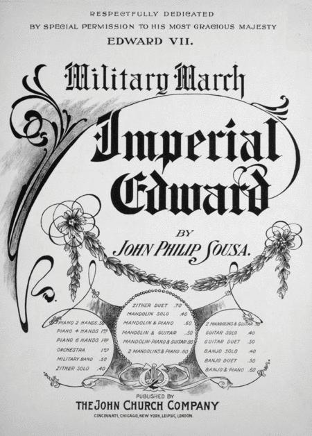 Military March. Imperial Edward
