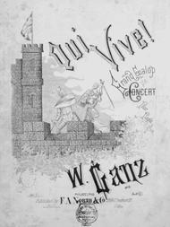 Qui Vive! Grand Galop Concert Pour Piano