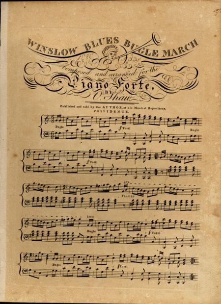 Winslow Blues Bugle March