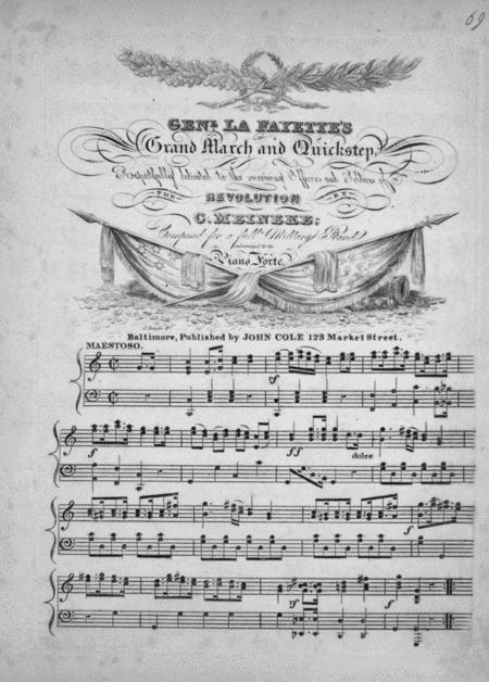 Genl. La Fayette's Grand March and Quickstep