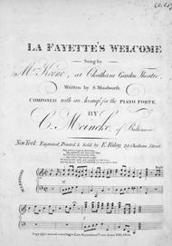 La Fayette's Welcome