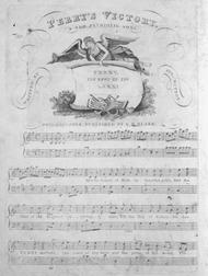 Perry's Victory. A New Patriotic Song