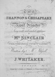 The Shannon & Chesapeake. The Rival Frigates