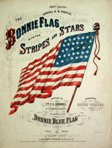 The Bonnie Flag With the Stripes and Stars